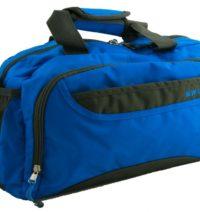 Modro šedá sportovní taška Augustine