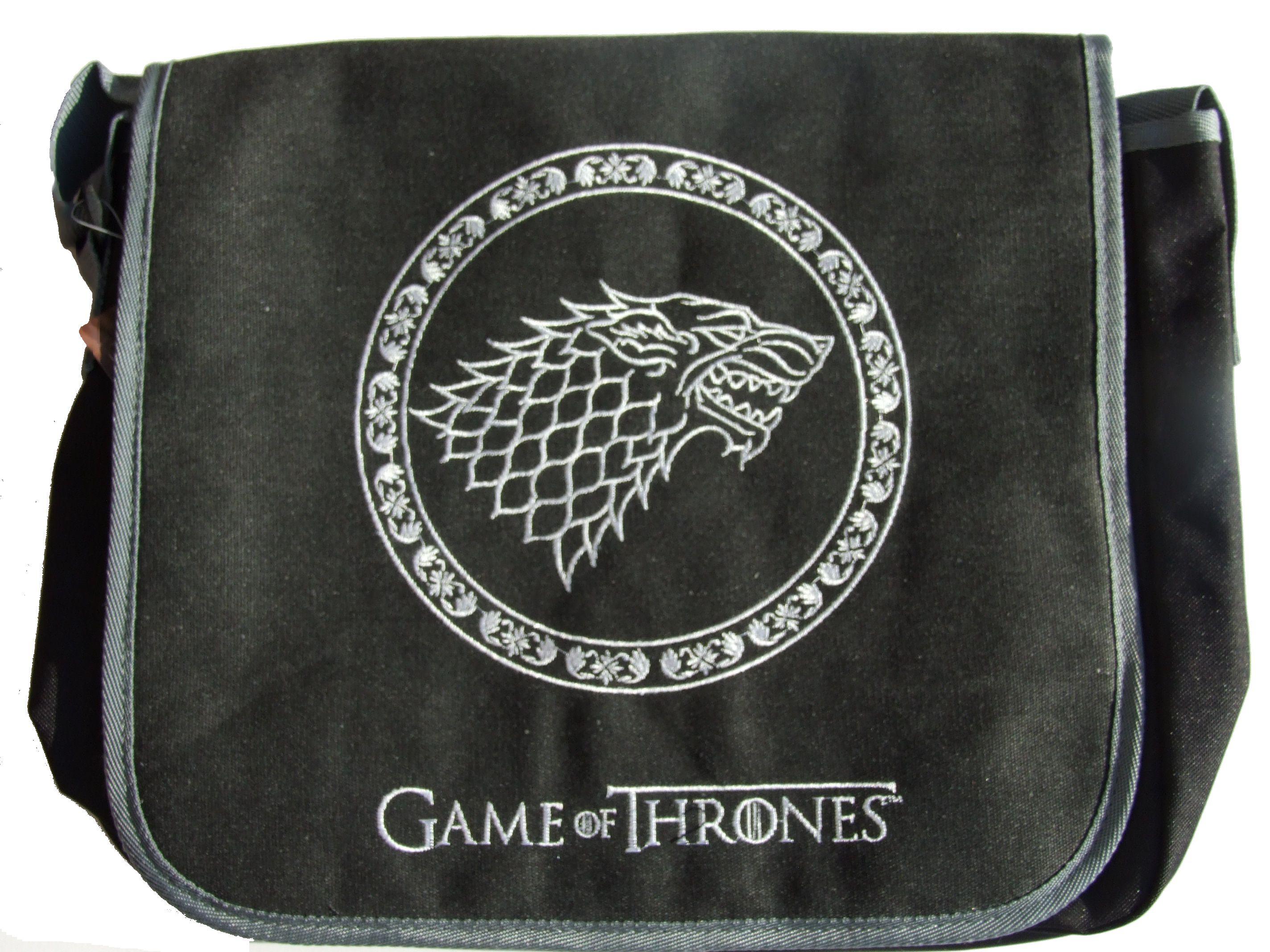 Pánská Taška Game of Thrones - Stark (vyšívaný vzor)