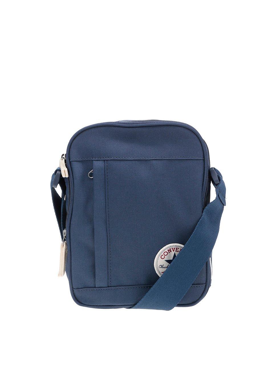 Tmavě modrá crossbody taška s logem Converse