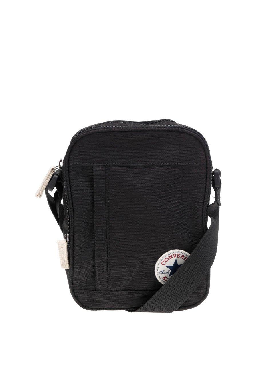 Černá crossbody taška s logem Converse