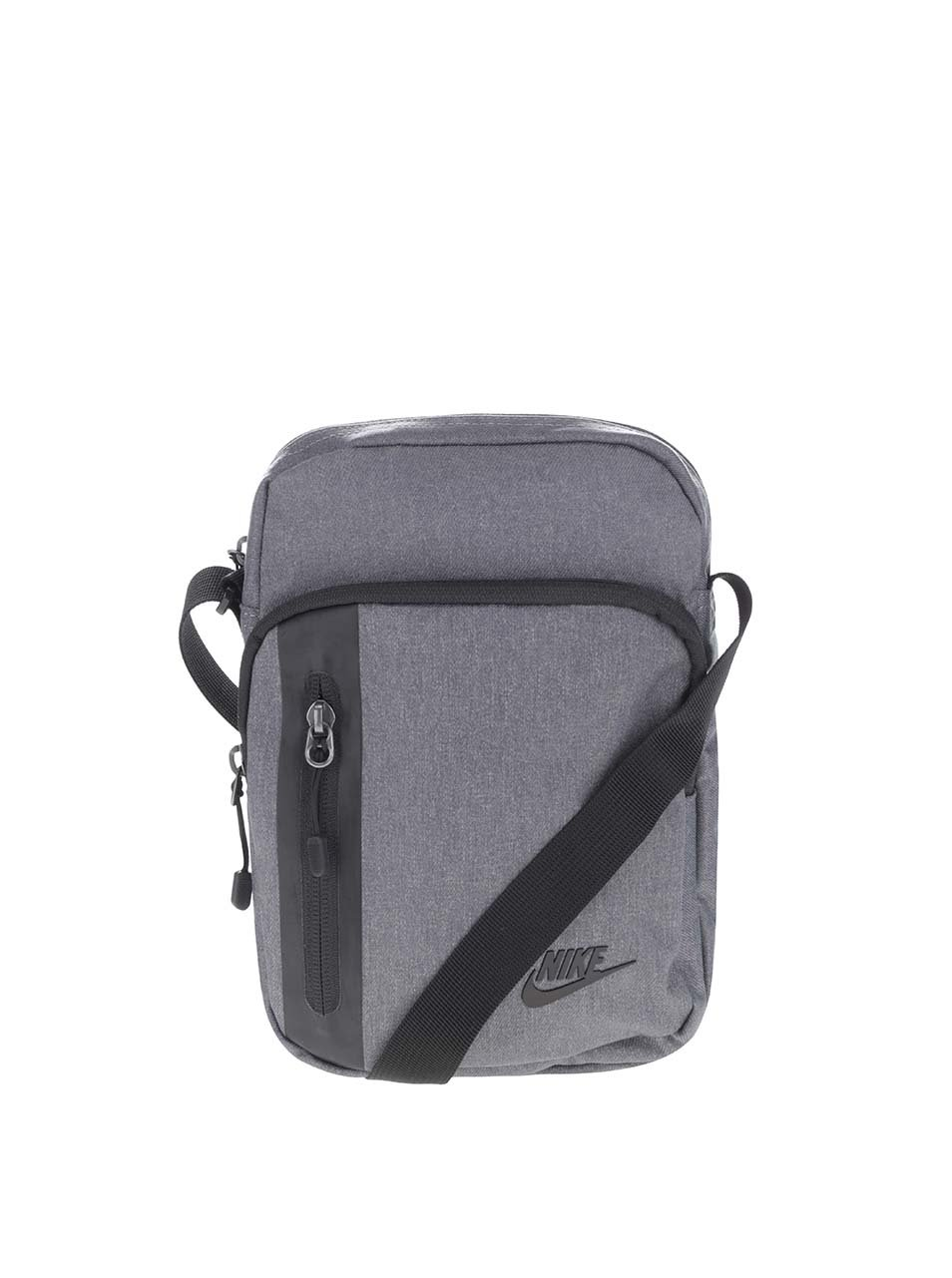 Šedá unisex crossbody taška Nike Core Small