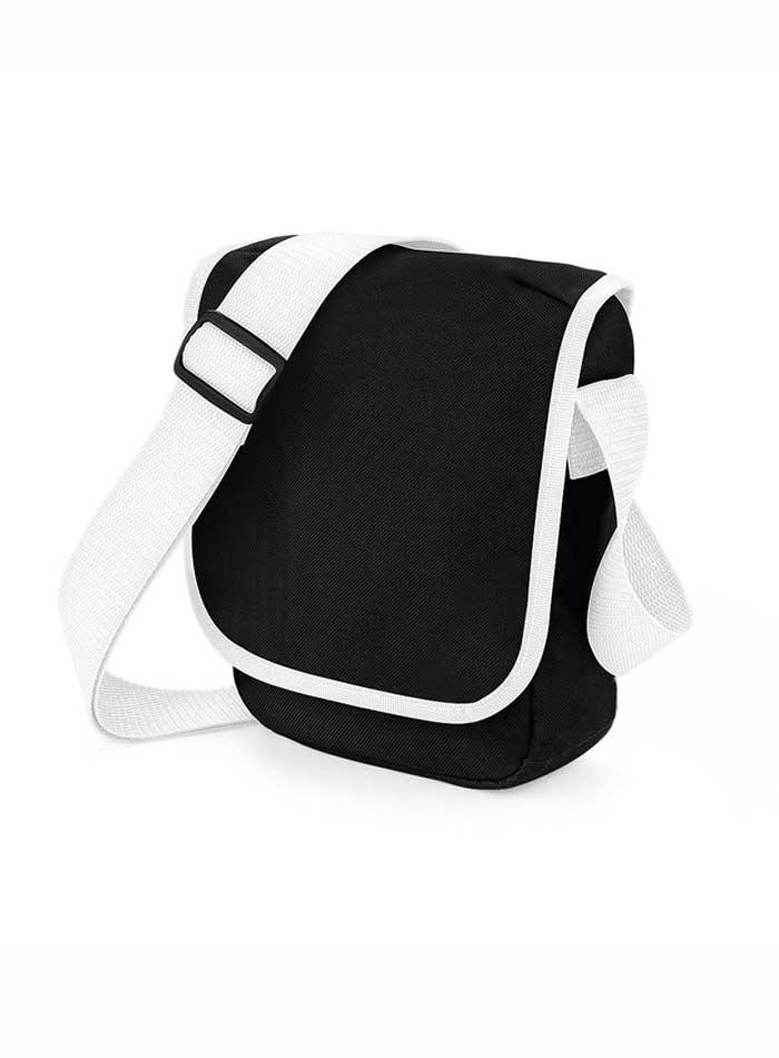 Mini taška přes rameno - Černá a bílá univerzal