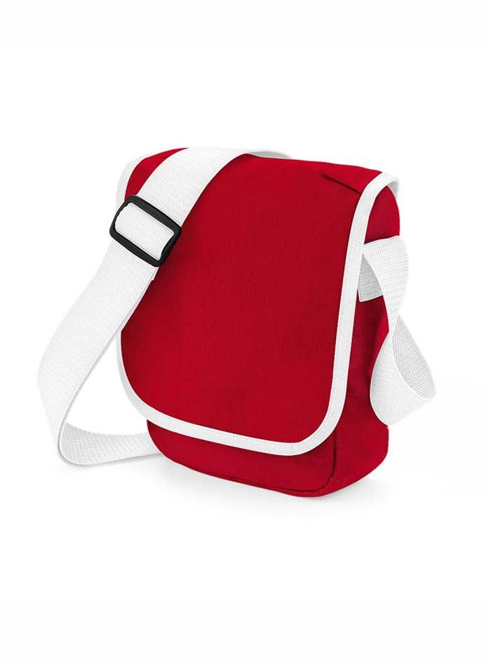Mini taška přes rameno - Červená a bílá univerzal