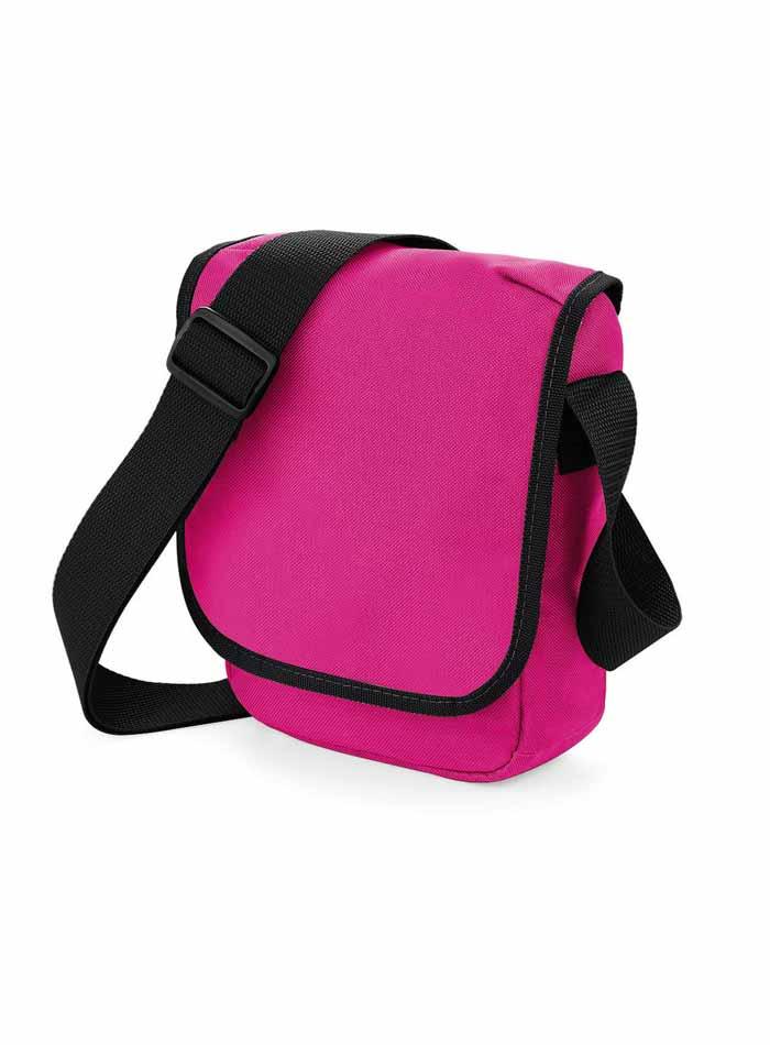 Mini taška přes rameno - Růžová a černá univerzal