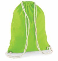 Bavlněný vak na záda  – Zelená univerzal
