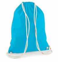 Bavlněný vak na záda  – Modrá univerzal