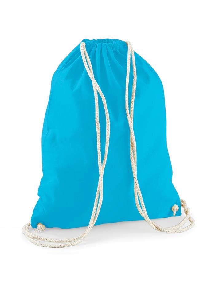Bavlněný vak na záda  - Modrá univerzal