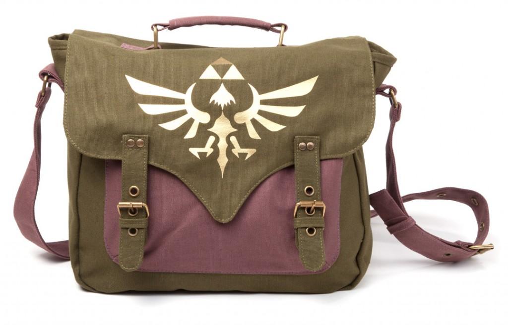 Nintendo - Zelda Brašna - Triforce logo