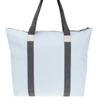Světle modrá cestovní taška s delšími uchy RAINS