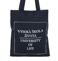 Tmavě modrá plátěná taška ZOOT Originál Vysoká škola života