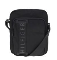 Černá pánská crossbody taška s nápisem Tommy Hilfiger